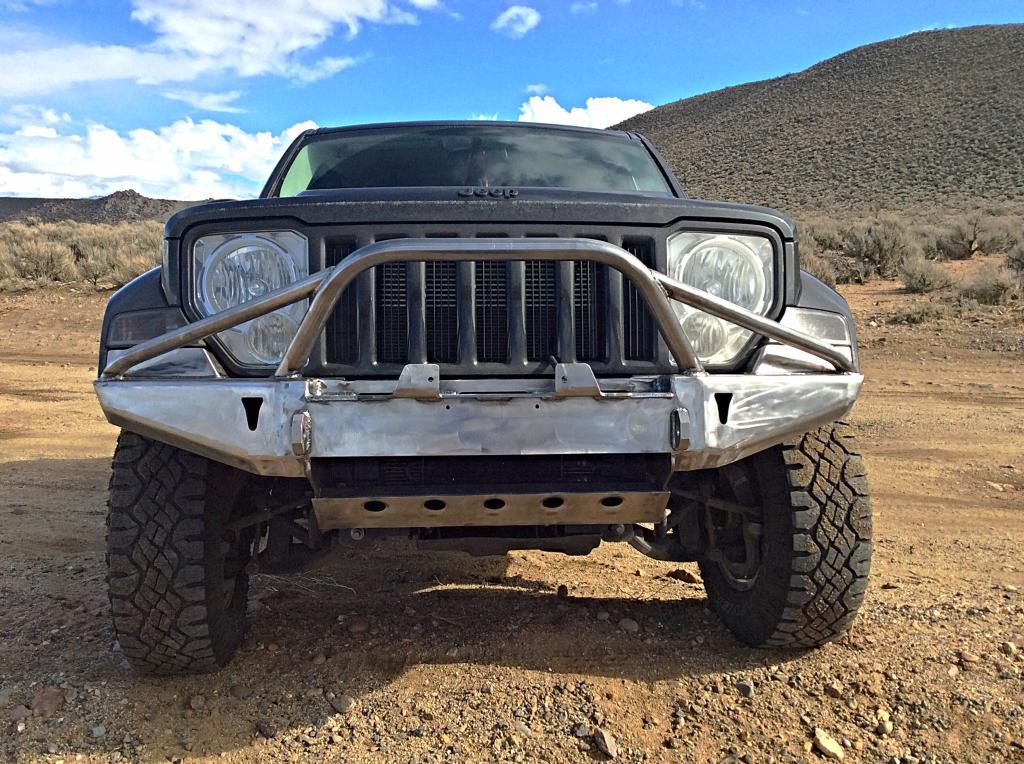 Winch Bumper for 08-12 Jeep Liberty KK