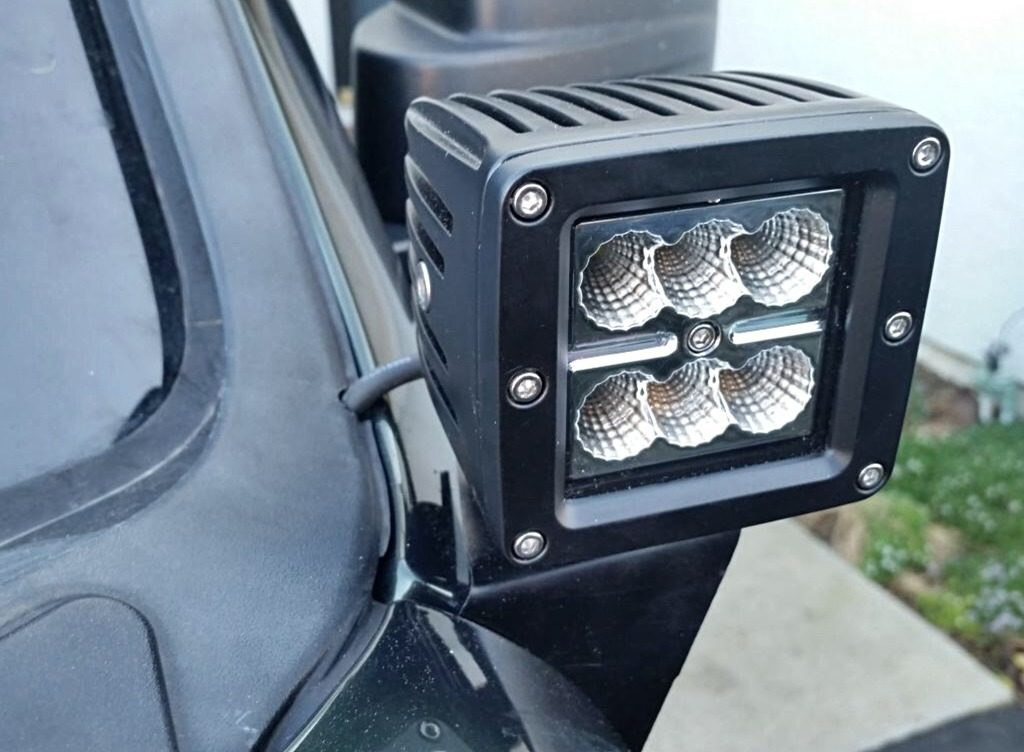 Ditch Light Brackets For 08 12 Jeep Liberty Kk At The